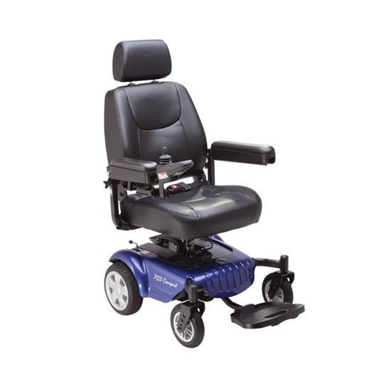 Rascal P320 Compact Power Chair Blue