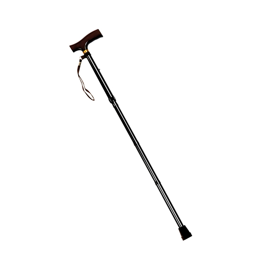 Drive Folding Cane with Strap - Black Wave