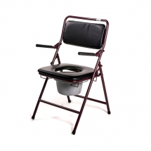 Roma Folding Commode Chair